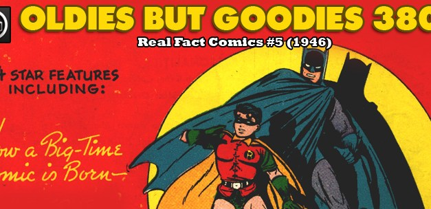 Oldies But Goodies: Real Fact Comics #5 (1946)