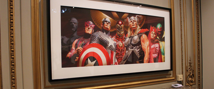 Super-Héros – l'Art d' Alex Ross