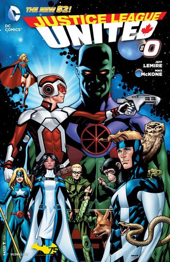 Avant-Première VO: Review Justice League United #0