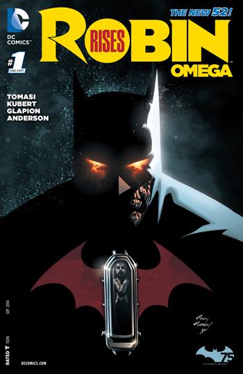 Avant-Première VO: Review Robin Rises - Omega #1