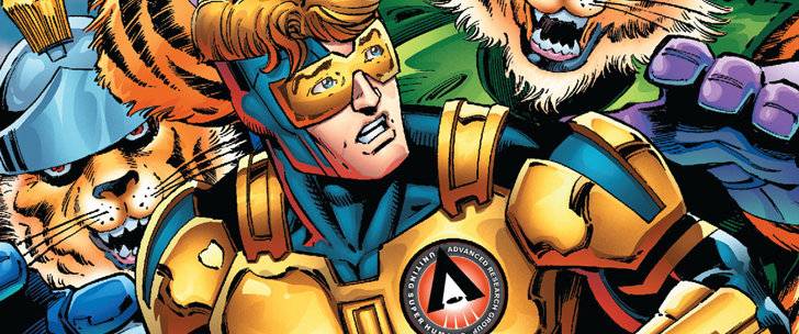 Avant-Première VO: Review Booster Gold – Futures End #1