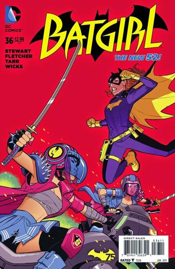 Batgirl #36