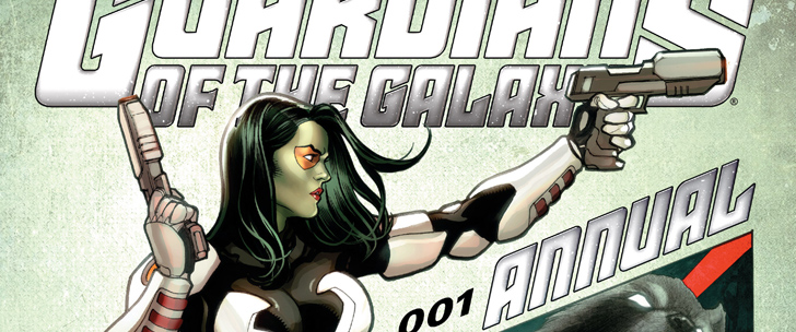 Avant-Première VO: Review Guardians of the Galaxy Annual #1