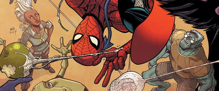 Avant-Première VO: Review Spider-Man & The X-Men #1