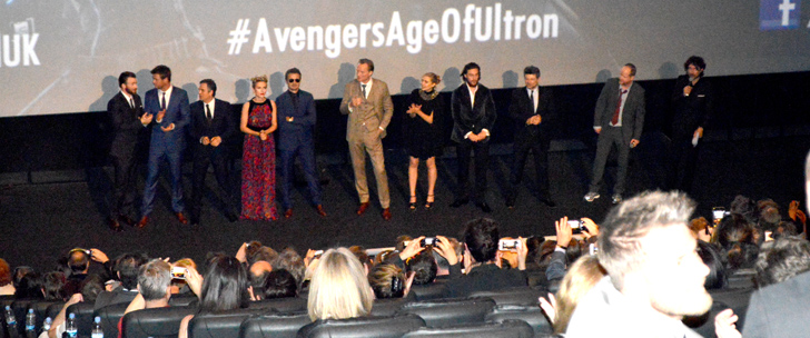 Avengers: Age of Ultron European Premiere