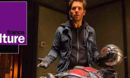 Ant-Man et les super-héros au cinéma @ France Culture