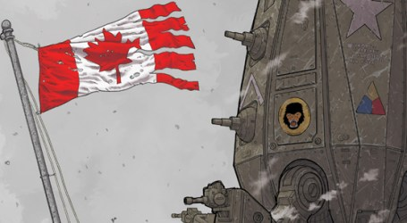 Avant-Première VO: Review We Stand On Guard #1