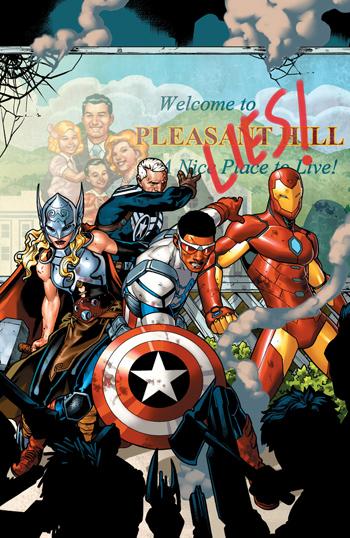 Avant-Première VO: Review Avengers Standoff - Assault On Pleasant Hill Alpha #1