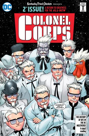 Avant-Première VO: Review KFC: Crisis On Infinite Colonels #1