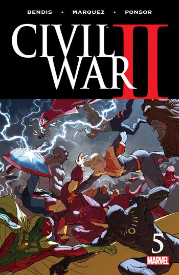 Avant-Première VO: Review Civil War II #5