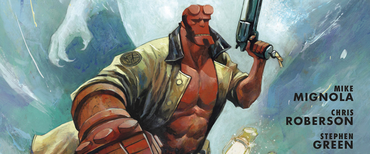Avant-Première VO: Review Hellboy And The B.P.R.D.: 1954 – Black Sun #1