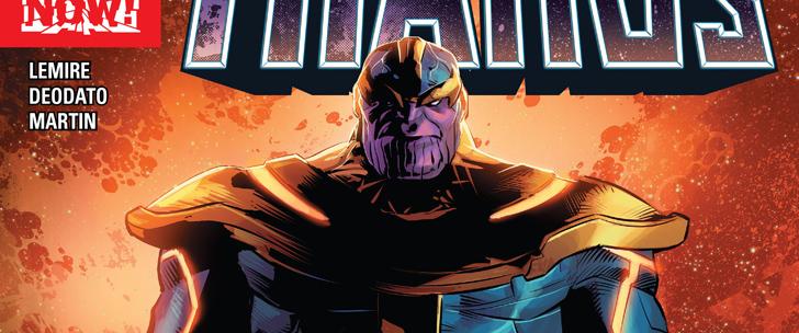 Avant-Première VO: Review Thanos #1