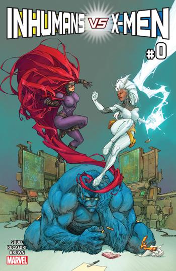 Avant-Première VO: Review Inhumans vs. X-Men #0