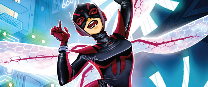 Avant-Première VO: Review The Unstoppable Wasp #1