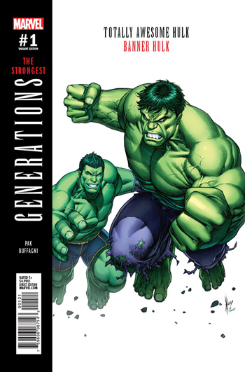 Avant-Première VO: Review Generations - Totally Awesome Hulk/Banner Hulk #1