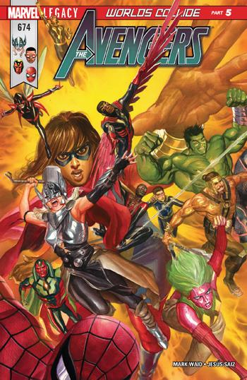 Avengers #674