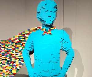 Art of the Brick : DC Super-Heroes