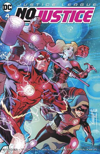 Justice League - No Justice #4
