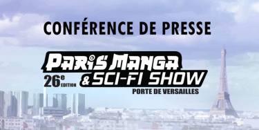 Conférence de presse Paris Manga & Sci-Fi Show Oct. 2018