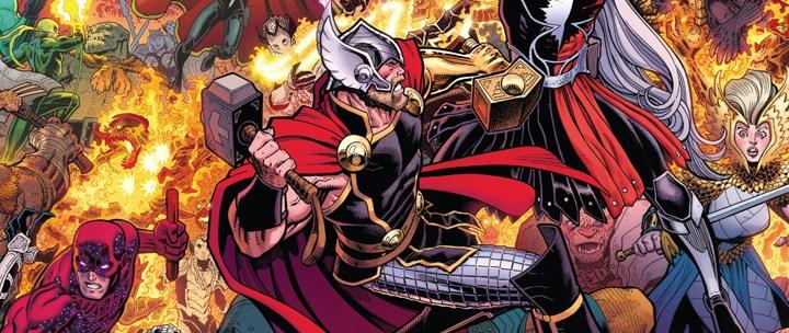 Avant-Première Comics VO: Review War Of The Realms #1