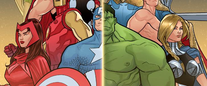Avant-Première Comics VO: Avengers/Defenders: Tarot #1