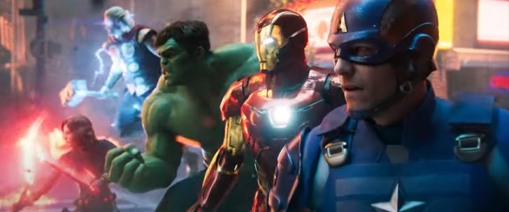 Marvel's Avengers, le trailer