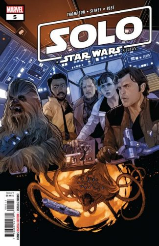 SOLO A STAR WARS STORY 5 325x500 Comic Review for week of February 20th, 2019