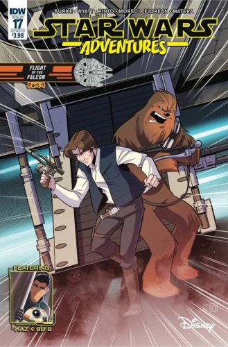STAR WARS ADVENTURES 17 COVER B 329x500 Comic Review for week of January 30, 2019