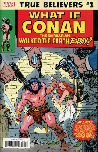 TRUE BELIEVERS WHAT IF CONAN THE BARBARIAN WALKED THE EARTH TODAY 1 324x500 Comic Review for week of January 30, 2019