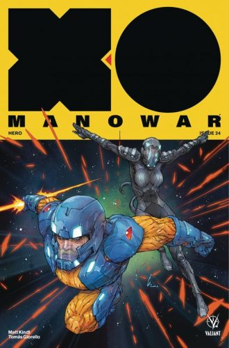 X O MANOWAR 24 330x500 Comic Review for week of February 20th, 2019