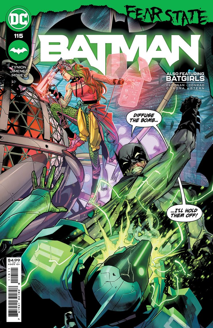 Batman 115 A Recent Comic Cover Updates For The Week Ending 2021 07 23