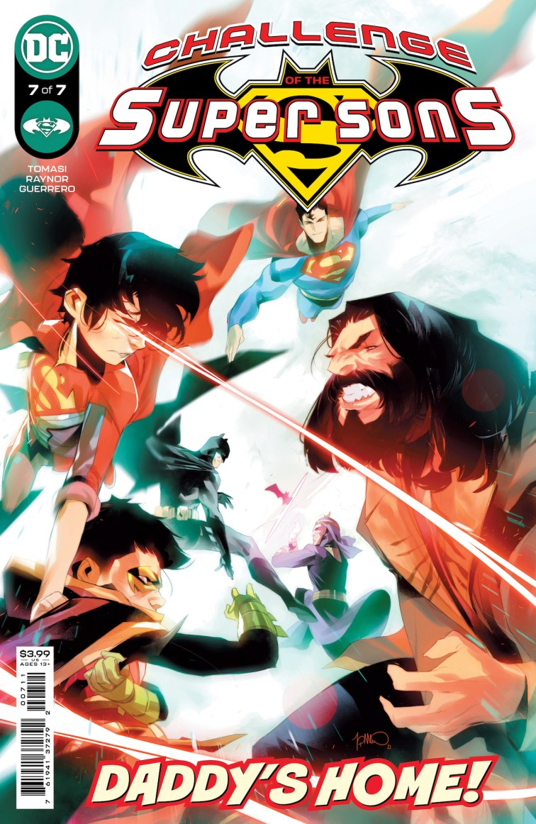 COTSuperSons Cv7 00711 Recent Comic Cover Updates For The Week Ending 2021 07 23