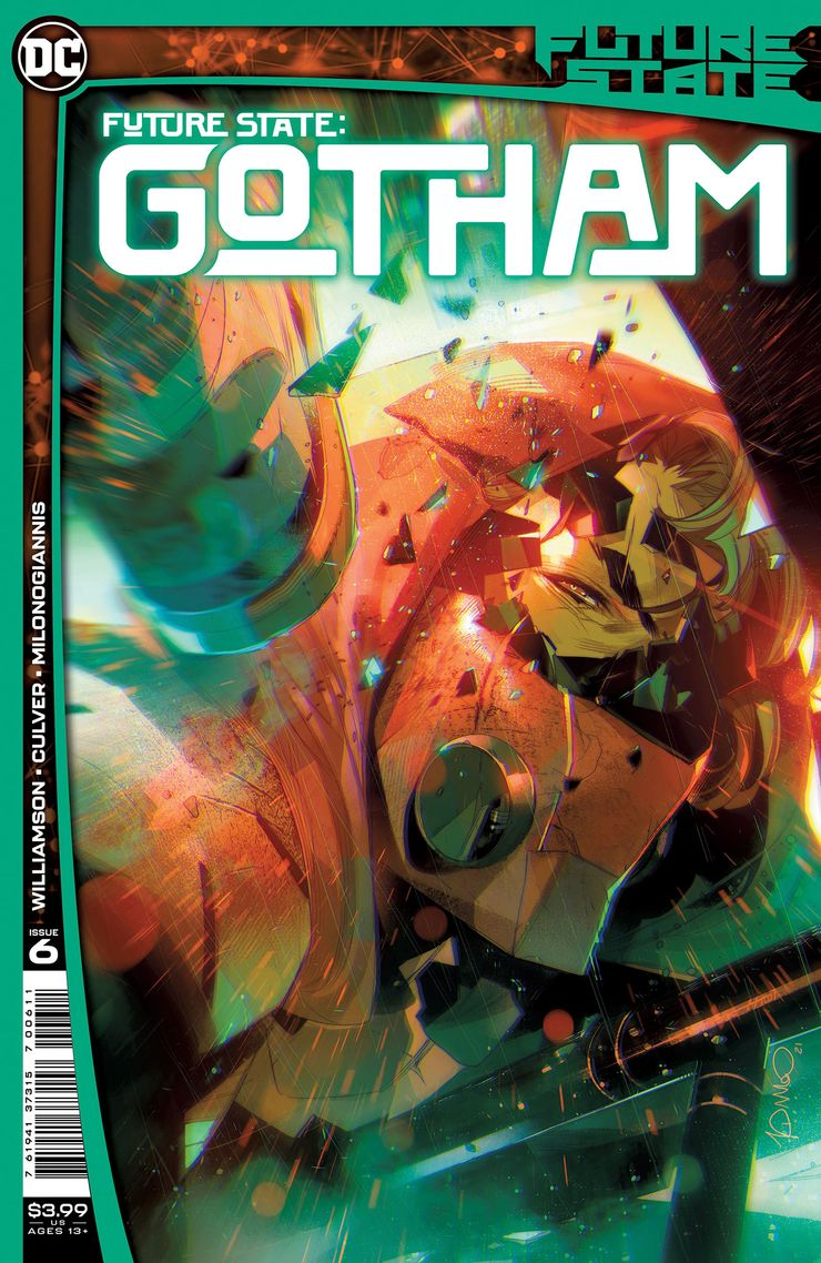 FUTURE STATE GOTHAM 6 A Recent Comic Cover Updates For The Week Ending 2021 07 23