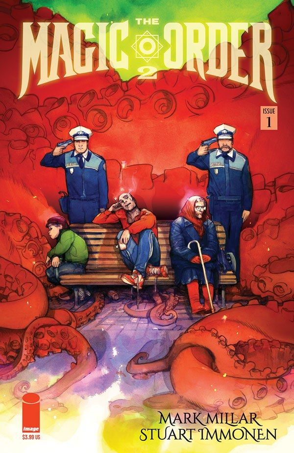 Magic Order 2 1 C Recent Comic Cover Updates For The Week Ending 2021 07 23