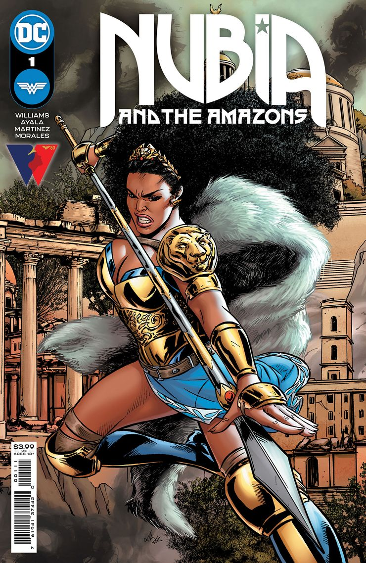 NUBIA THE AMAZONS 1 A Recent Comic Cover Updates For The Week Ending 2021 07 23