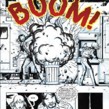 Doom Patrol Director Cut Issue 1 - Showcase artwork explosion