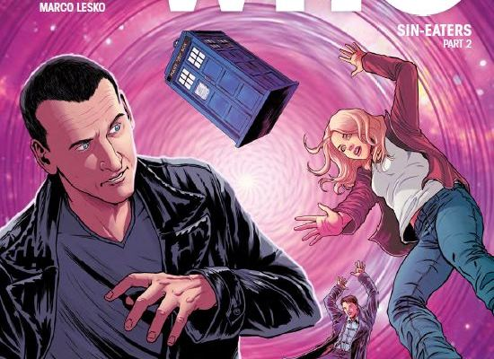 Doctor Who The Ninth Doctor Issue 12 - Cover