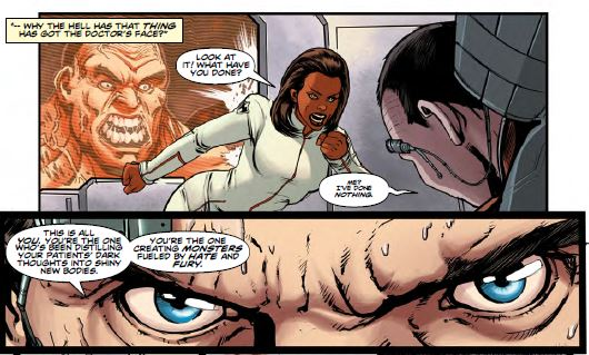 Doctor Who The Ninth Doctor Issue 12 - Stilted Dialogue