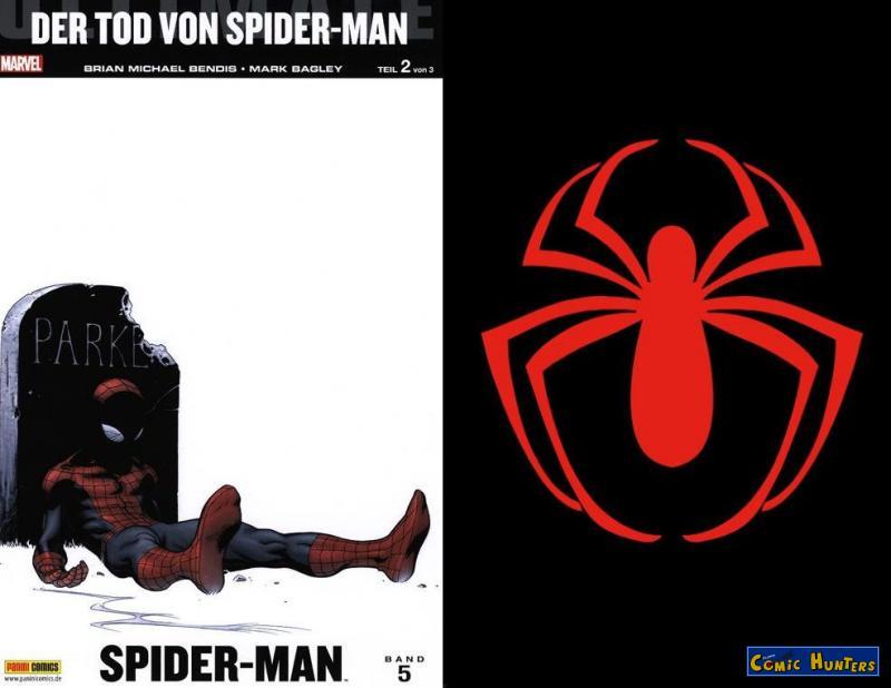 Ultimate Spider-Man #5: Der Tod von Spider-Man (Teil 2) (Variant Cover-Edition A)