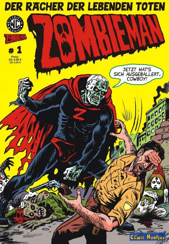 Zombieman Nr. 1 (Weissblech Verlag)