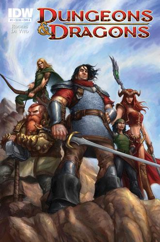 DungeonsDragons01_CoverA IDW Publishing November 2010 Solicitations