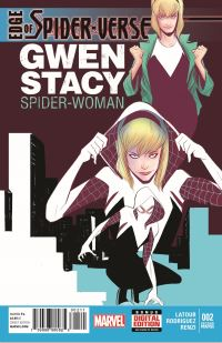 Edge_of_Spider-Verse_2_2nd_Printing_Cover ComicList: Marvel Comics New Releases for 10/29/2014
