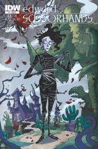 EdwardScissorhands01_RI ComicList: IDW Publishing New Releases for 10/22/2014