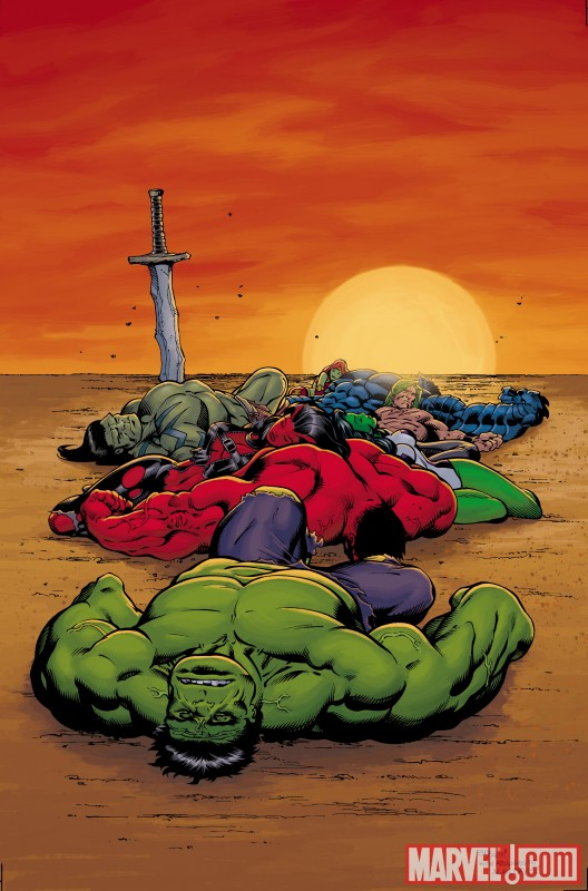 FoTH_Alpha_NYEEVariant ComicList: Marvel Comics for 12/30/2009