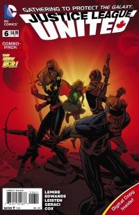 JLU_Cv6_Combo_C1 ComicList: DC Comics New Releases for 11/12/2014