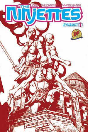Ninjettes01CovDF ComicList: Dynamite Entertainment for 03/14/2012