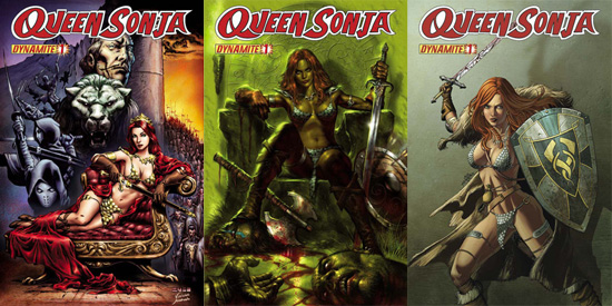 QueenSonja1 ComicList: Dynamite Entertainment for 10/28/2009