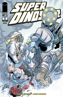 SuperDinosaur02_2ndPtg_cover ComicList: Image Comics for 06/29/2011