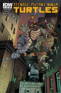 TMNT39_cvrA ComicList: IDW Publishing New Releases for 10/15/2014