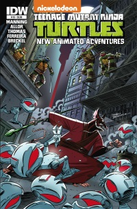 TMNT_Animate16_cvr ComicList: IDW Publishing New Releases for 10/15/2014